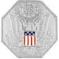 USA FEDERAL SEAL SILVER DOMED