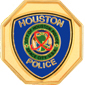 HOUSTON TEXAS POLICE DEPT GOLD