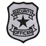 BASIC SHIELD -BLACK/REFLECT GREY- SECURITY OFFICER