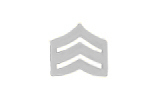 "3 UP SERGEANT WIDER 3/4"" SILVER"