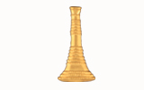 "1"" BUGLES - 1 STANDING - GOLD"