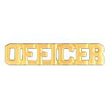 METAL LETTERING OFFICER - GOLD