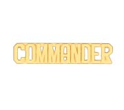 METAL LETTERING COMMANDER - GOLD