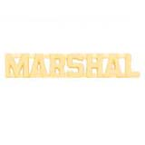 METAL LETTERING MARSHALL - GOLD