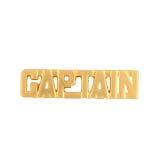 METAL LETTERING CAPTAIN - GOLD