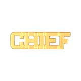 METAL LETTERING CHIEF - GOLD