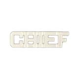 METAL LETTERING CHIEF - SILVER