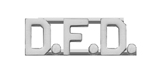 METAL LETTERING D.F.D. - SILVER