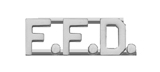 METAL LETTERING F.F.D. - SILVER