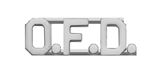 METAL LETTERING O.F.D. - SILVER