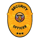 OVAL W/ BRAIDS - GOLD - SEC OFFICER