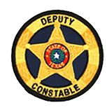 CIRCLE 5 PT STAR - GOLD - DEPUTY CONSTABLE
