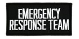 2 X 4 EMERGENCY RESPONSE TEAM - BLACK WITH WHITE