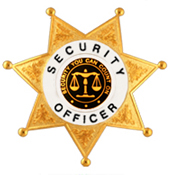 SECURITY YOU CAN COUNT ON SCALES BLACK/GOLD