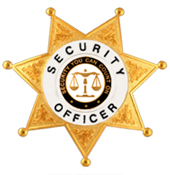 SECURITY YOU CAN COUNT ON SCALES WHITE/GOLD