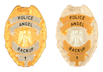 POLICE ANGEL BACKUP PINS